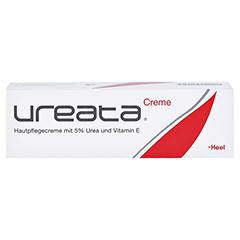 UREATA Creme mit 5% Urea und Vitamin E 50 Gramm - Vorderseite
