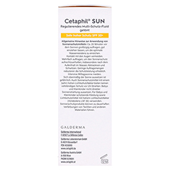 CETAPHIL Sun Daylong SPF 50+ reg.MS-Fluid Ges.getö 50 Milliliter - Rechte Seite