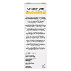 CETAPHIL Sun Daylong SPF 50+ reg.MS-Fluid Gesicht 50 Milliliter - Rechte Seite