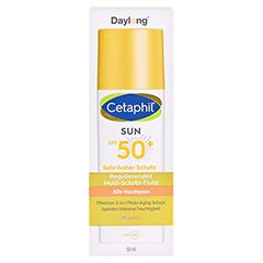 CETAPHIL Sun Daylong SPF 50+ reg.MS-Fluid Ges.getö 50 Milliliter - Vorderseite