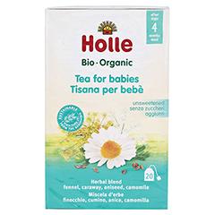 HOLLE Bio Baby-Tee Aufgussbeutel 20x1.5 Gramm - Rückseite