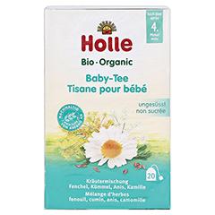 HOLLE Bio Baby-Tee Aufgussbeutel 20x1.5 Gramm - Vorderseite