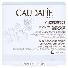 CAUDALIE Vinoperfect Nachtcreme m.Glykolsäure 50 Milliliter - Vorderseite