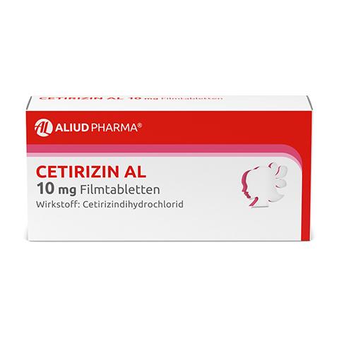 Cetirizin AL 10mg 7 Stück