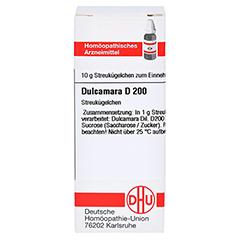 DULCAMARA D 200 Globuli 10 Gramm N1 - Vorderseite