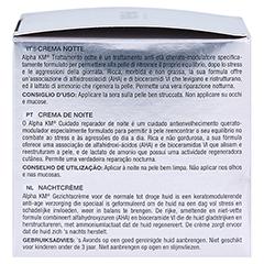 Alpha KM Creme regenerierende Nachtpflege 50 Milliliter - Linke Seite