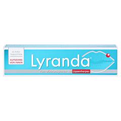 LYRANDA Kautabletten 15 Stück - Vorderseite