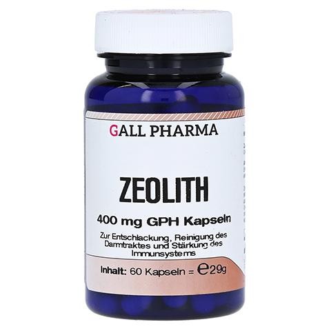 ZEOLITH 400 mg GPH Kapseln 60 Stück