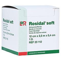 ROSIDAL Soft Binde 12x0,4 cmx2,5 m 1 Stück