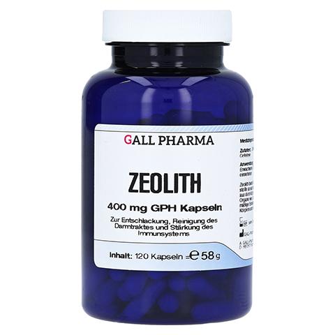 ZEOLITH 400 mg GPH Kapseln 120 Stück