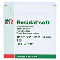 ROSIDAL Soft Binde 12x0,4 cmx2,5 m 1 Stück - Vorderseite