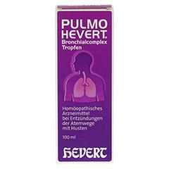 PULMO HEVERT Bronchialcomplex Tropfen 100 Milliliter N2 - Vorderseite