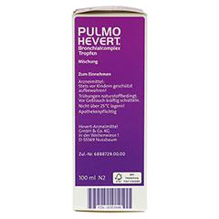 PULMO HEVERT Bronchialcomplex Tropfen 100 Milliliter N2 - Rechte Seite