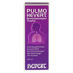PULMO HEVERT Bronchialcomplex Tropfen 100 Milliliter N2 - Rückseite