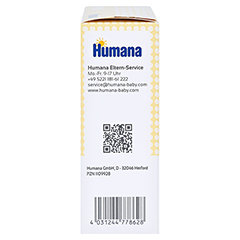 HUMANA Elektrolyt Banane Pulver 75 Gramm - Rechte Seite