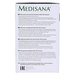MEDISANA Blutdruck Messgerät BU530 Connect Oberarm 1 Stück - Linke Seite