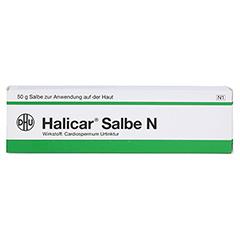 HALICAR Salbe N 50 Gramm N1 - Vorderseite