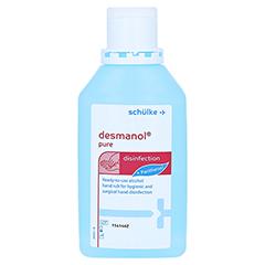 Desmanol pure Händedesinfektion Lösung 500 Milliliter - Vorderseite