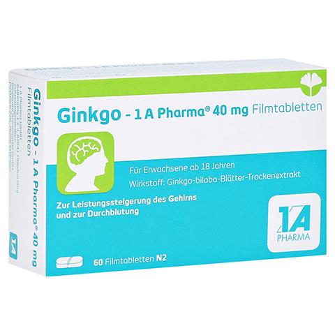 GINKGO-1A Pharma 40 mg Filmtabletten 60 Stück N2