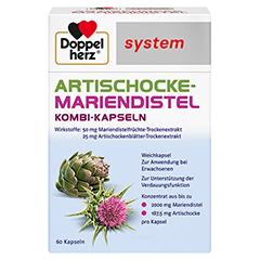 DOPPELHERZ Artischocke-Mariendistel system Weichk. 60 Stück
