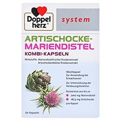 DOPPELHERZ Artischocke-Mariendistel system Weichk. 60 Stück - Vorderseite