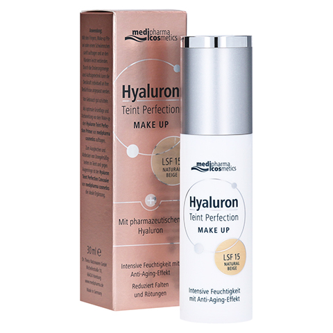 HYALURON TEINT Perfection Make-up natural beige 30 Milliliter