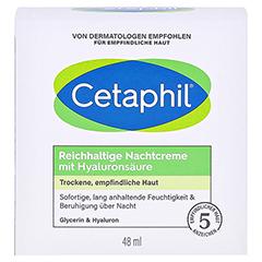 Cetaphil Reichhaltige Nachtcreme mit Hyaluronsäure 48 Gramm - Vorderseite
