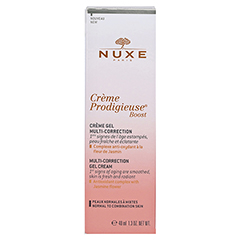 NUXE Creme Prodigieuse Boost Multi-korrigierende Gel-Creme 40 Milliliter - Rückseite