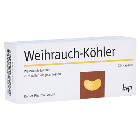 WEIHRAUCH-KÖHLER Kapseln 30 Stück