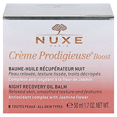 NUXE Creme Prodigieuse Boost Ölbalsam für die Nacht 50 Milliliter - Rückseite