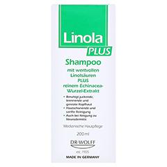 LINOLA PLUS Shampoo 200 Milliliter - Vorderseite