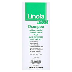 LINOLA PLUS Shampoo 200 Milliliter - Rückseite