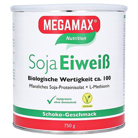 Megamax Soja Eiweiß Schoko Pulver 750 Gramm