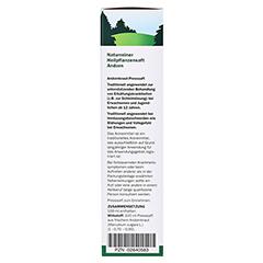 Andorn naturreiner Heilpflanzensaft Schoenenberger 200 Milliliter - Rechte Seite