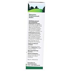 Andorn naturreiner Heilpflanzensaft Schoenenberger 200 Milliliter - Linke Seite