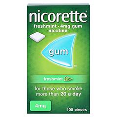 Nicorette 4mg freshmint 105 Stück - Vorderseite