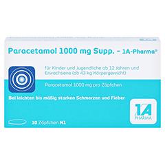 Paracetamol 1000mg-1A Pharma 10 Stück N1 - Vorderseite