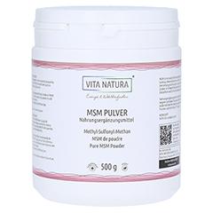 MSM PULVER Methylsulfonylmethan 500 Gramm
