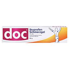 Doc Ibuprofen Schmerzgel 5% 50 Gramm N1 - Vorderseite
