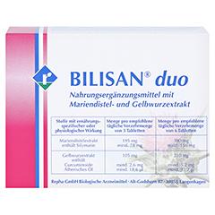 BILISAN duo Tabletten 100 Stück - Rückseite