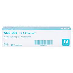 ASS 500-1A Pharma 20 Stück - Unterseite