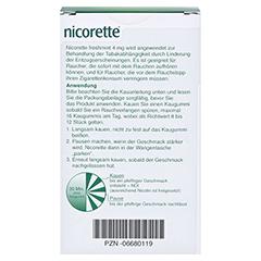 Nicorette 4mg freshmint 105 Stück - Rückseite