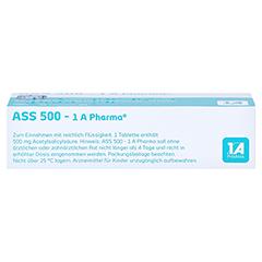 ASS 500-1A Pharma 30 Stück N2 - Oberseite