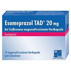 Esomeprazol TAD 20mg bei Sodbrennen 14 Stück