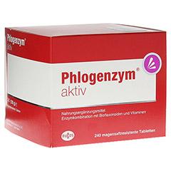 PHLOGENZYM aktiv magensaftresistente Tabletten 240 Stück