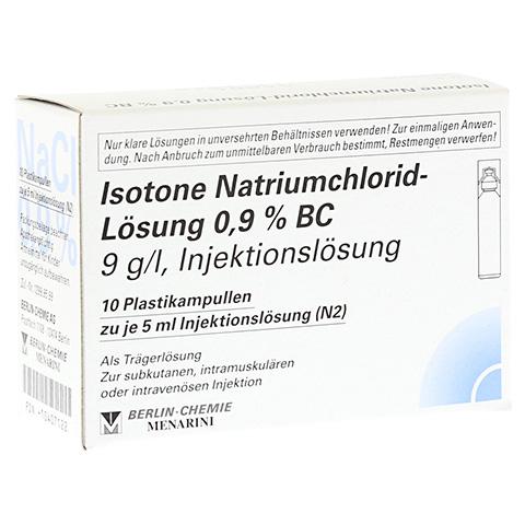 ISOTONE NaCl Lösung 0,9% BC Plast.Amp.Inj.-Lsg. 10x5 Milliliter N2