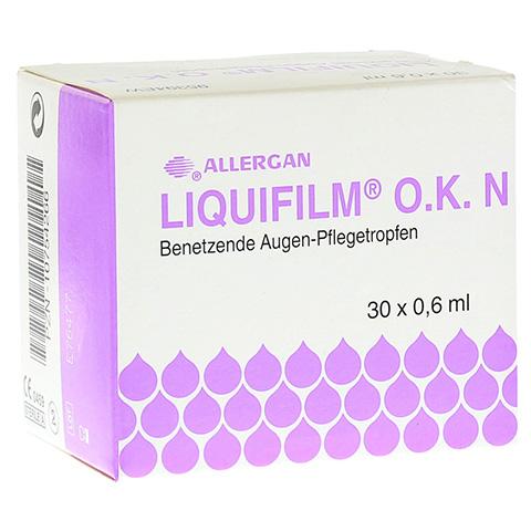 LIQUIFILM O.K. N Augentropfen 30x0.6 Milliliter