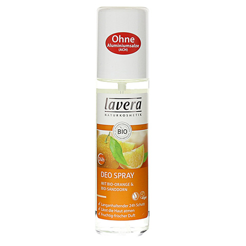 LAVERA Deo Spray Bio-Orange+Bio-Sanddorn 75 Milliliter