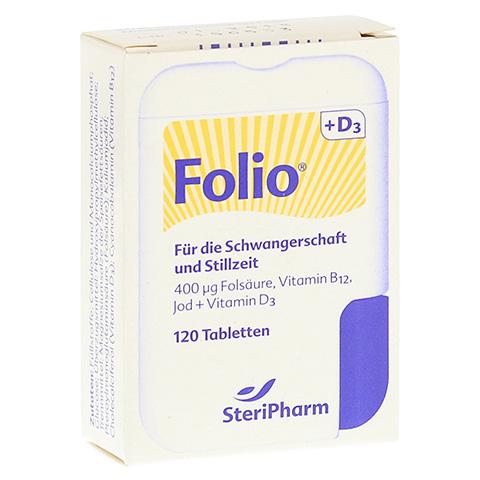 FOLIO+D3 Filmtabletten 120 Stück