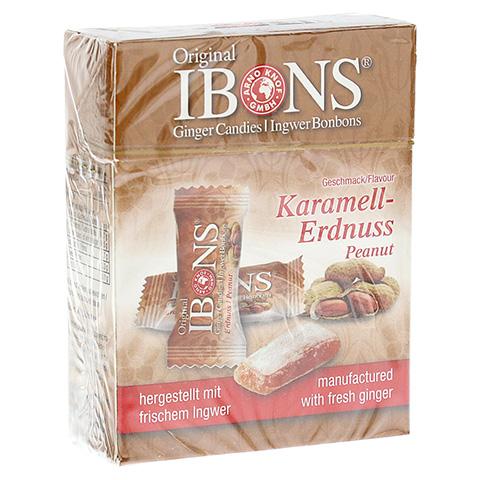 IBONS Karamell-Erdnuss Ingwerkaubonbons Orig.Scha. 60 Gramm